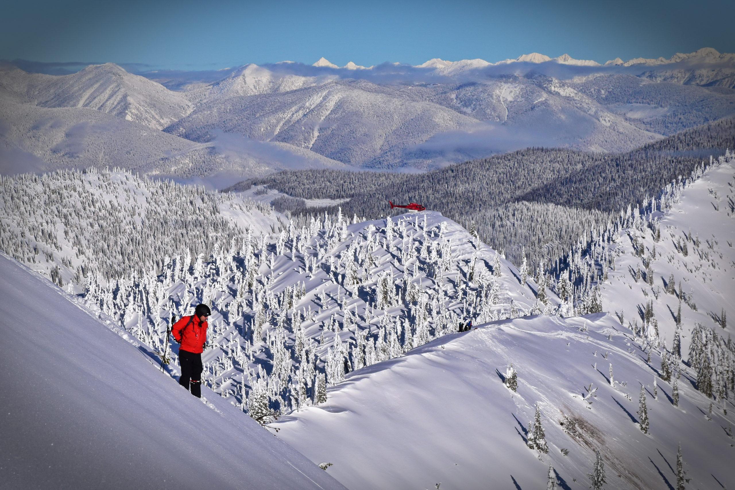Snowwater Heli-Skiing, British Columbia